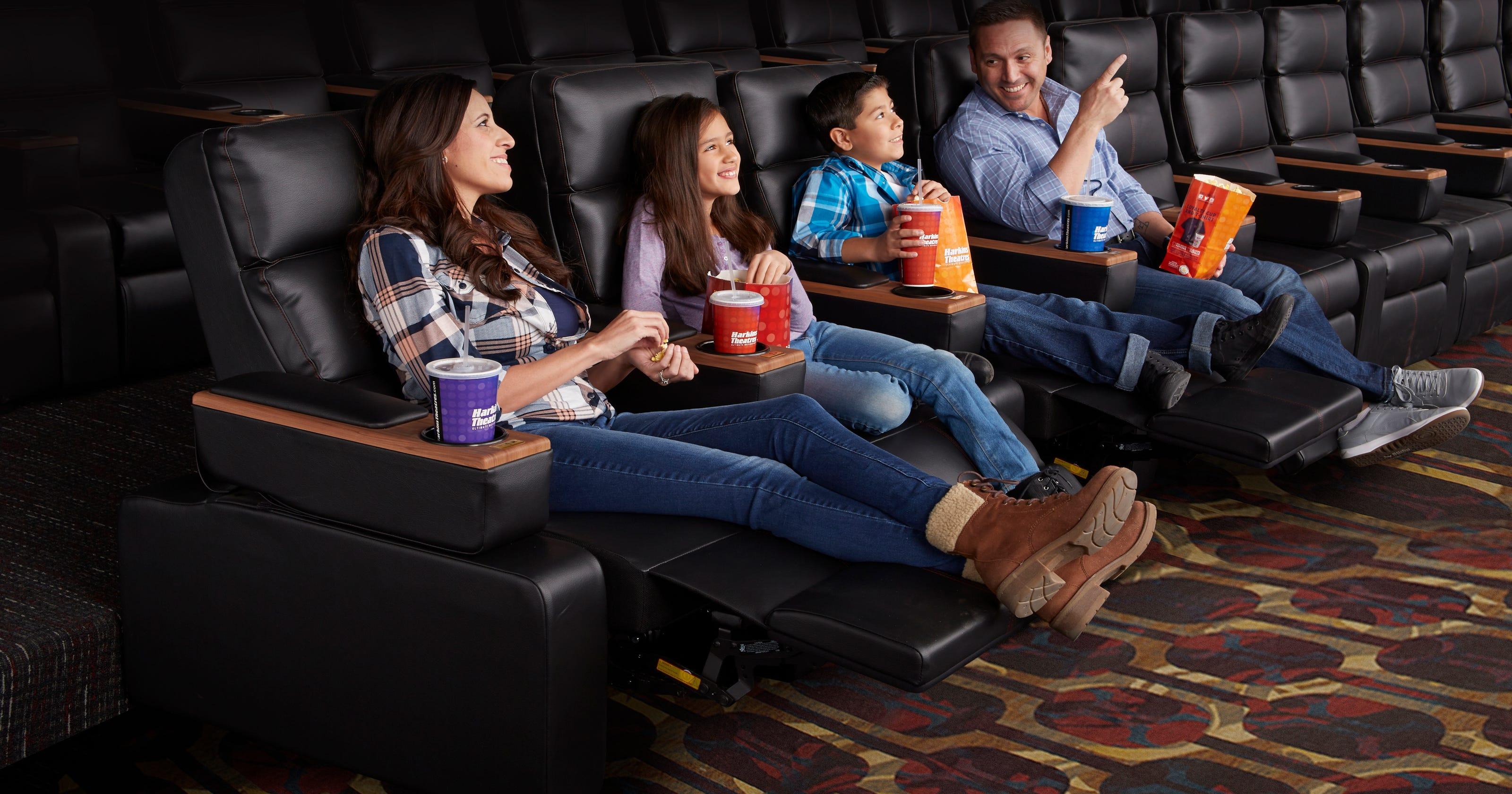 Hottest trend at the movies? Luxury theaters wine and dine
