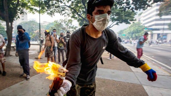 looking to keep up pressure on President Nicolas Maduro's policies.