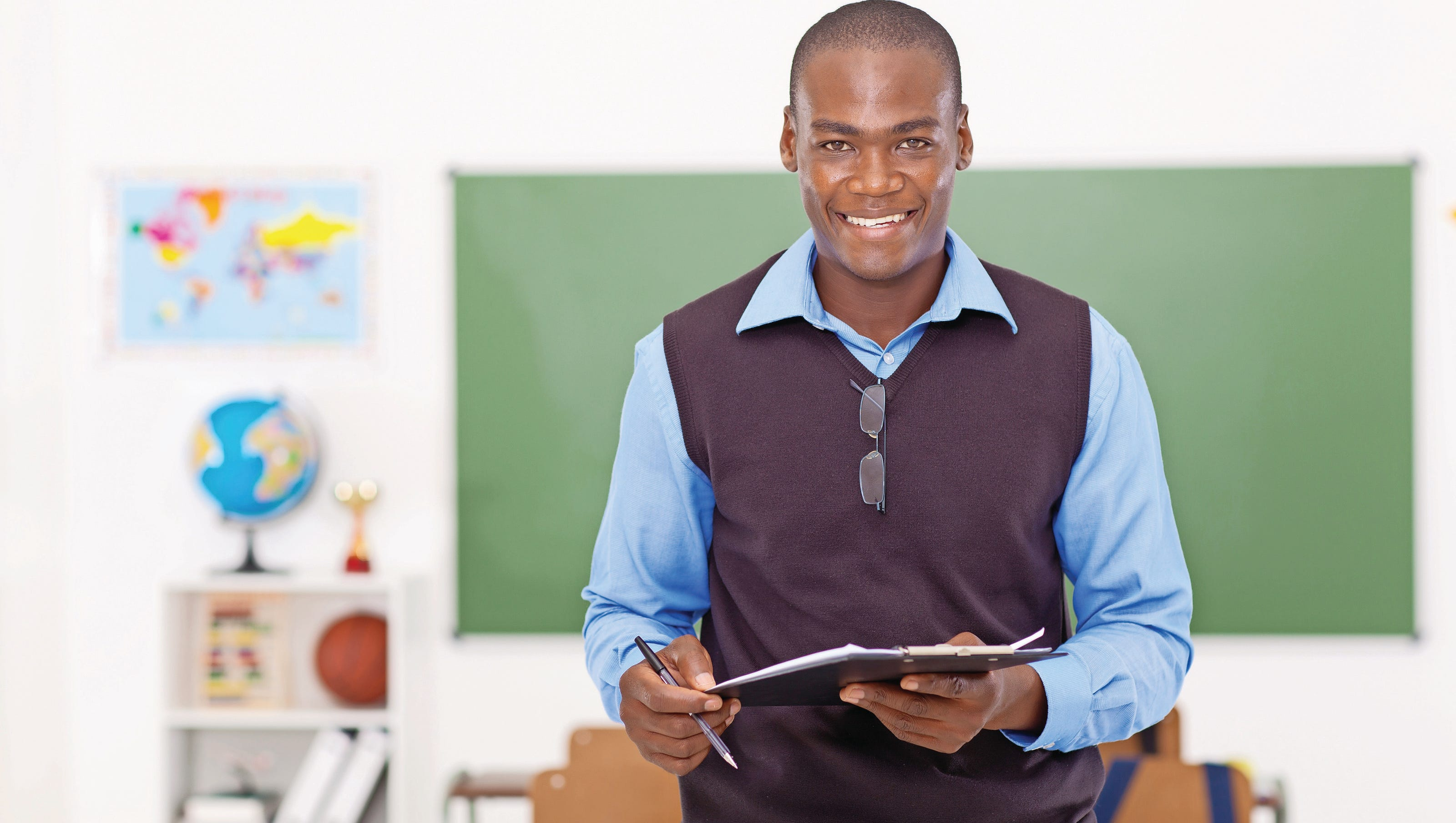 Male Teacher Shortage Affects Boys Who Need Role Models