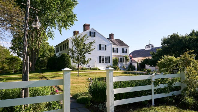 "The home where ""Charlotte's Web."" author E.B. White  dates back to the late 1700s and includes a barn that was the setting for the beloved children's book featuring a pig named Wilbur and a spider named Charlotte."