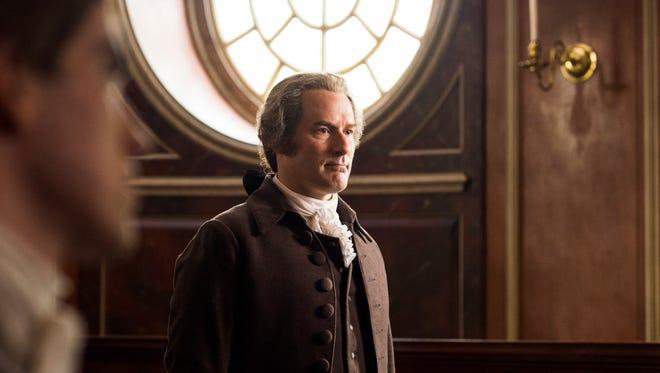 Ian Kahn as General George Washingtonin 'Turn: Washington's Spies.'