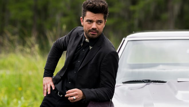 Dominic Cooper as Jesse Custer on 'Preacher.'