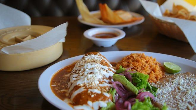 Chiles rellenos are a favorite menu item at Casa de Silvia in Indio, Calif., September 12, 2017.