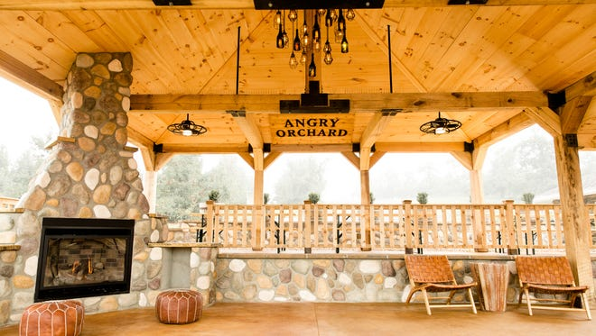 Angry Orchard opened a cider garden at its Walden orchard on Sept. 15.