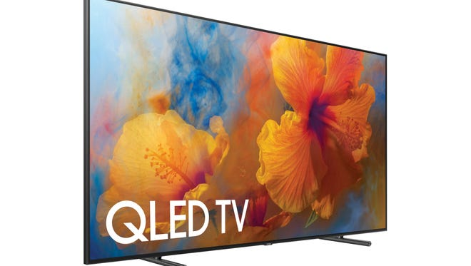 Samsung's QLED 4K TV, available in 65-inch, 75-inch and 88-inch models.