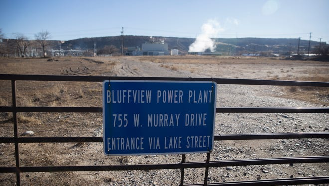 A solar array has been proposed near the Bluffview Power Plant on West Murray Drive in Farmington.