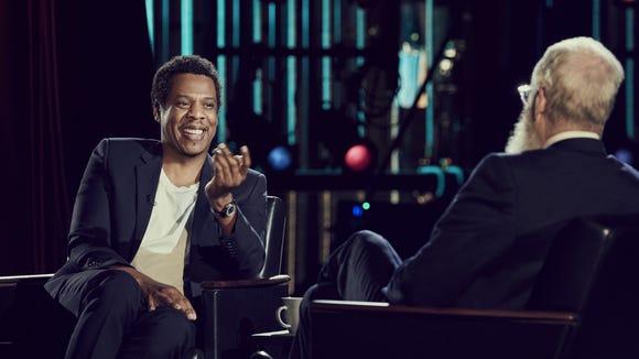 Jay-Z is David Letterman's 'Next Guest' on his Netflix talk show.