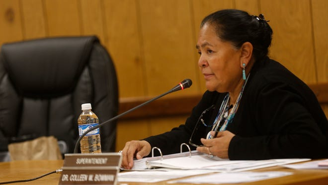 Central Consolidated School District Superintendent Colleen Bowman submitted her resignation on Friday.