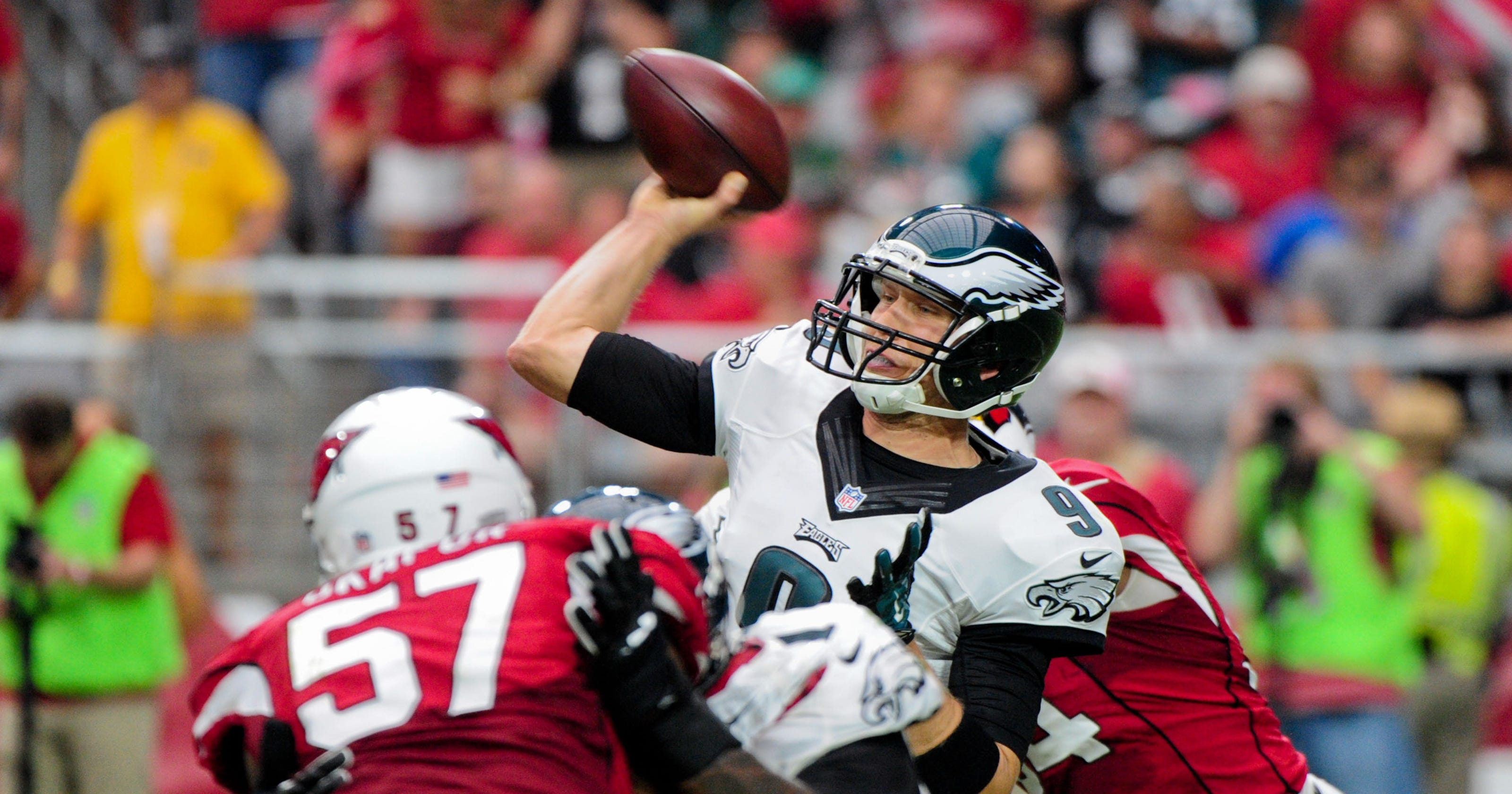 dc4a8dfd65c Nick Foles trade to Cardinals  Fans weigh in on Eagles QB in Arizona