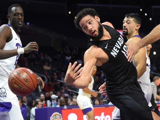 NCAA Basketball: Texas Christian at Nevada