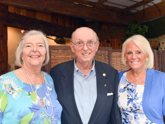 Marge Hohman, left, Charles McIntyre and Joyce Court