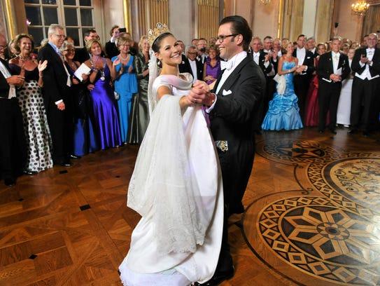 Crown Princess Victoria of Sweden and Prince Daniel,