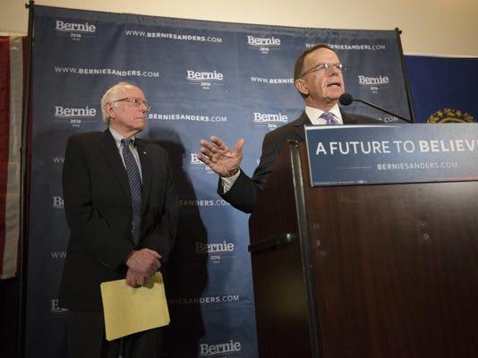 Bernie Sanders, Paul Kirk