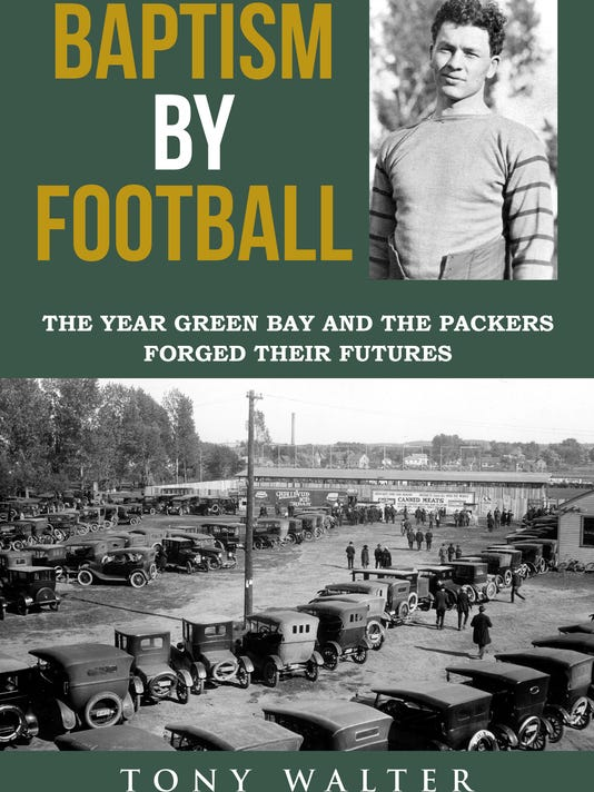 """Baptism by Football"" book cover"