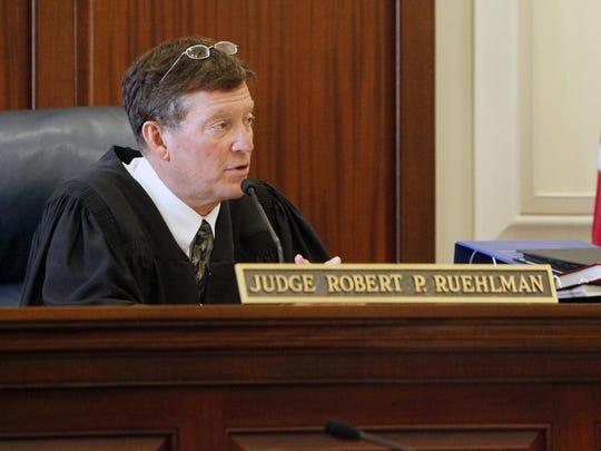 Hamilton County Common Pleas Judge Robert Ruehlman.