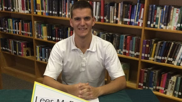East Henderson's Logan Sewell has signed to run college cross country and track for Lees-McRae.