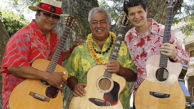 Masters of the Hawaiian guitar.