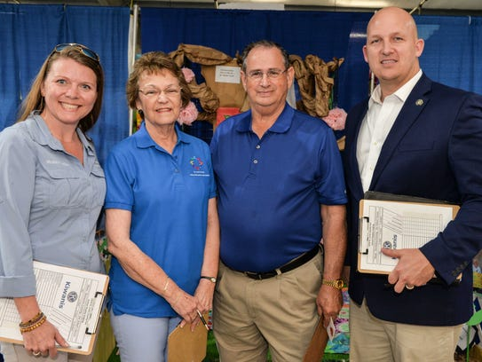2018 Middle School display judges St. Lucie County
