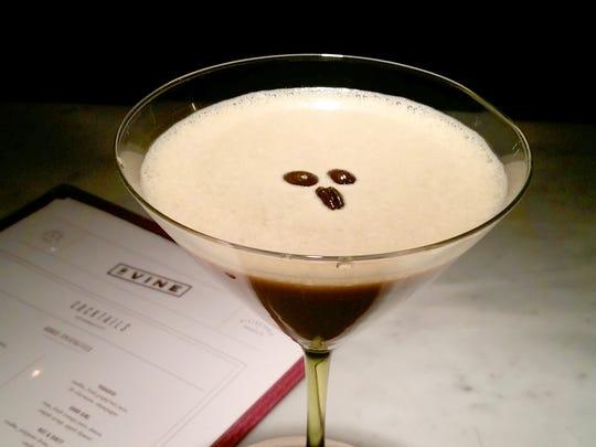 Espresso martini from 2 Vine