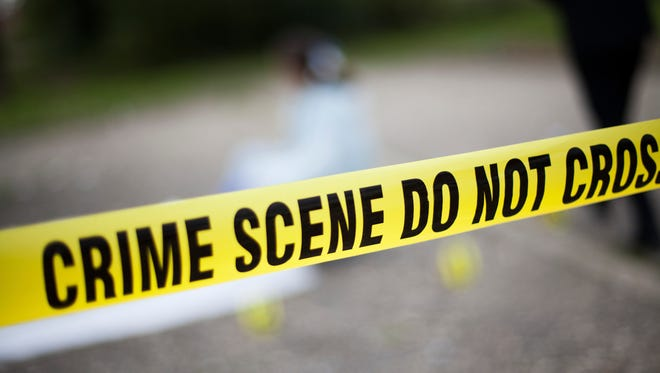 Stock image of a crime scene investigation.