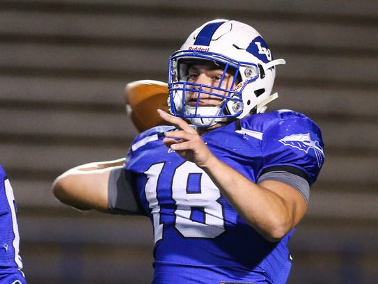 Lake View's Henry Nickias looks to pass the ball against