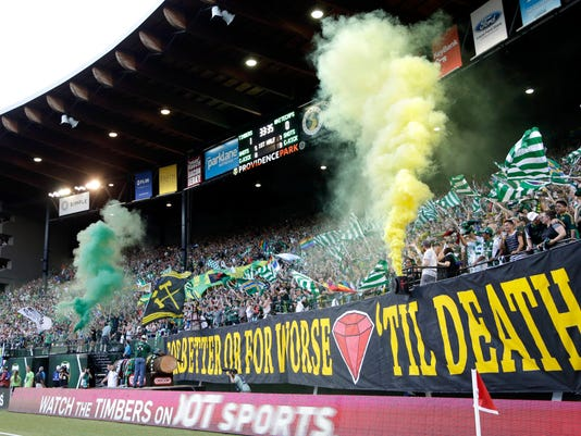 MLS Whitecaps Timbers Soccer
