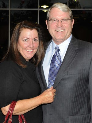 Cindy and Jim Gubbels attend Renown Health Foundation Gala, their second annual fundraiser to benefit Renown Children's Hospital, Saturday Oct. 15, 2011. Jim Gubbels is on leave as REMSA CEO.