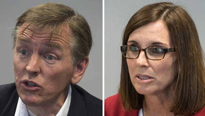 U.S. Reps. Paul Gosar and Martha McSally.
