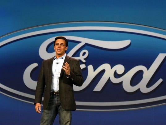 Mark Fields Earns 18 6m In First Year As Ford Ceo