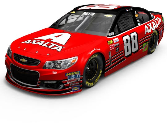 Dale Earnhardt Jr.'s paint scheme for his final race