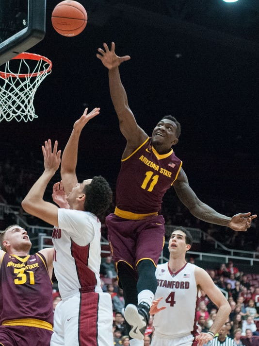 NCAA Basketball: Arizona State at Stanford