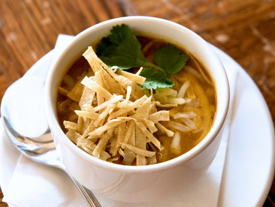 Tortilla soup at Green Hills Grille.