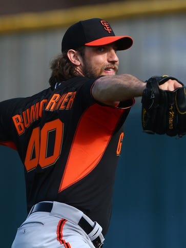 Madison Bumgarner pitched 270 innings last year, the
