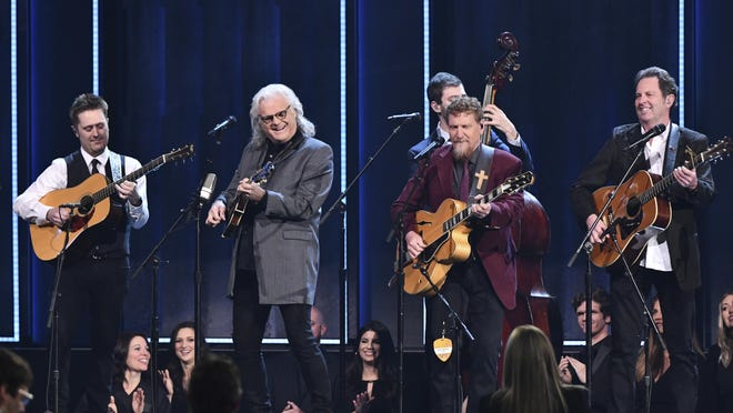 Ricky Skaggs (second left) and Kentucky Thunder will perform at the Newberry Opera House on Oct. 23. As with most other venues, the opera house is taking precautions with reduced seating and all guests required to wear masks.