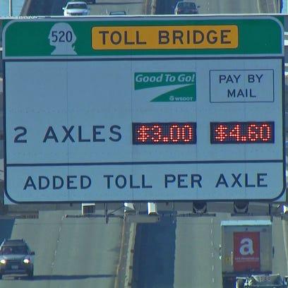 520 bridge toll