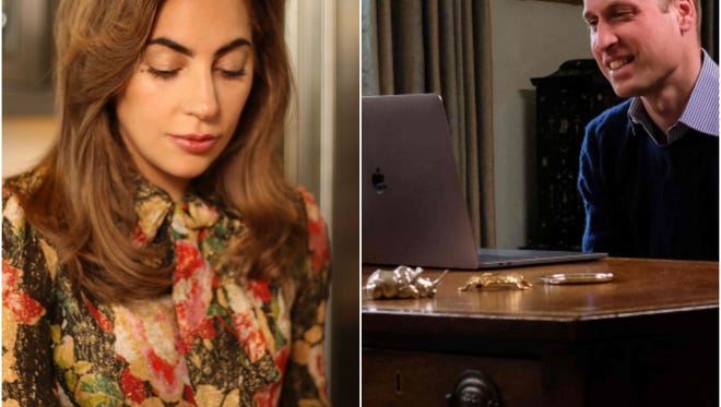 Lady Gaga and Prince William connected via Facetime to talk about removing the stigma from discussing mental health issues.