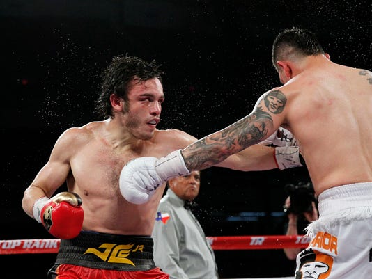 Julio Cesar Chavez Jr. has been plagued by inactivity but is making a quick return to the squared circle.  (Soobum Im-USA TODAY Sports)