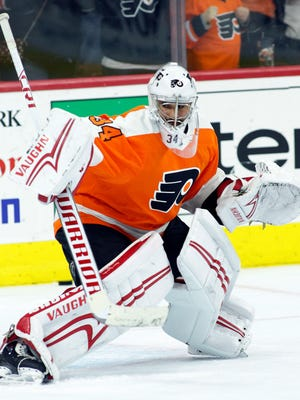 Petr Mrazek will likely get his first start as a Flyer on Thursday against the Columbus Blue Jackets.