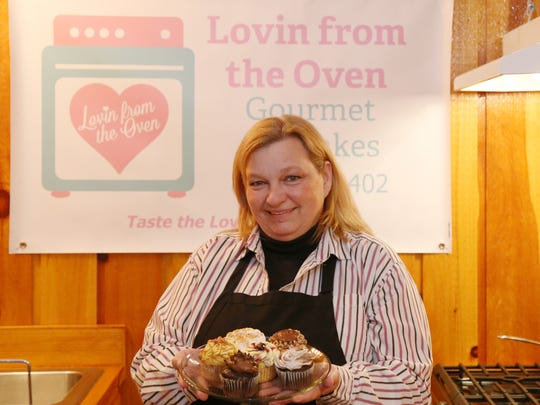 Jody Lydic, owner of Lovin from the Oven Gourmet Cupcakes
