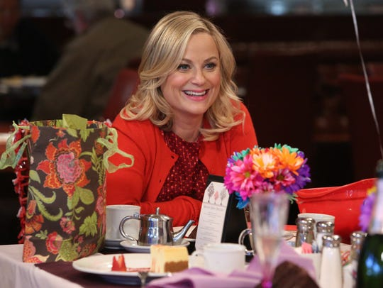 Leslie Knope (Amy Poehler) is the creator of Galentine's