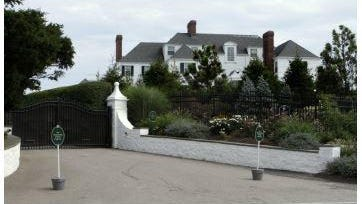 Taylor Swift's Watch Hill home was once the home of Rebekah Harkness, a divorcee who famously married into the Standard Oil fortune.
