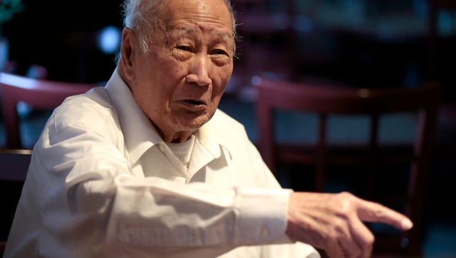 David Leong says he created Springfield-style cashew chicken at his restaurant, Leong's Tea House, in 1963.