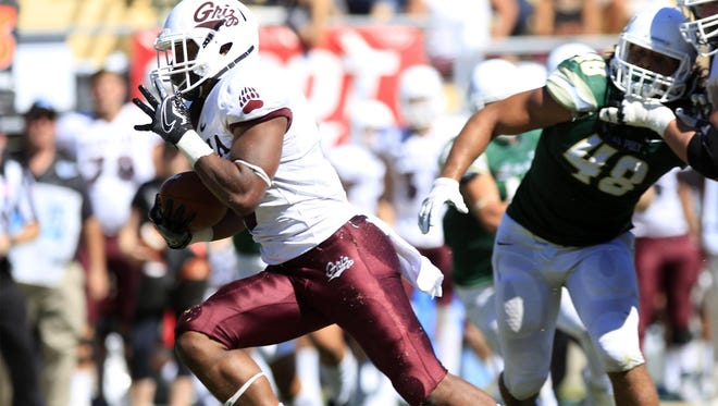 Jeremy Calhoun had a big day Saturday as the Montana Grizzlies defeated Portland State.