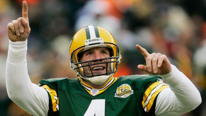 Former Packers QB Brett Favre