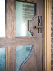 The front door of the Contemporary English Country