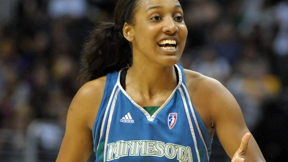 USP WNBA: MINNESOTA LYNX AT LOS ANGELES SPARKS S BKW USA CA