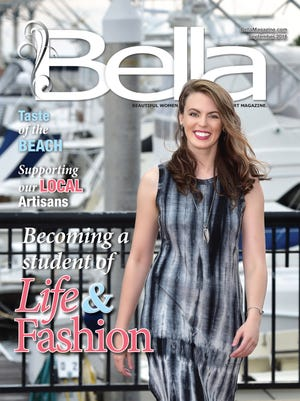 Front cover of Bella Magazine September issue.