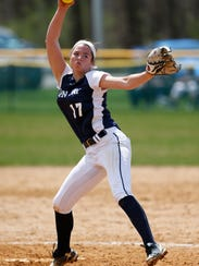 John Jay's Rachel Perez pitches against Section 2's