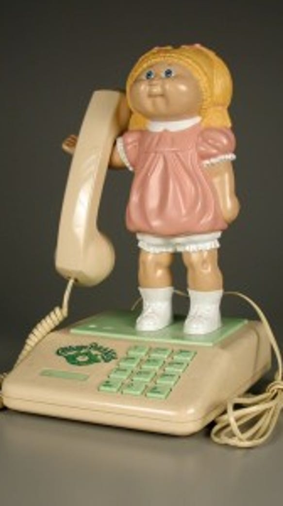 Cabbage Patch Kids phone. Courtesy of The Strong, Rochester, New York.