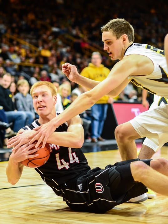 NCAA Basketball: Nebraska Omaha at Iowa
